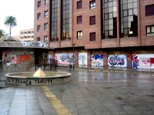 Plaza in Granada across from my homestay in 2010.