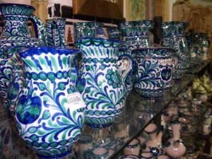 Pottery in Granada