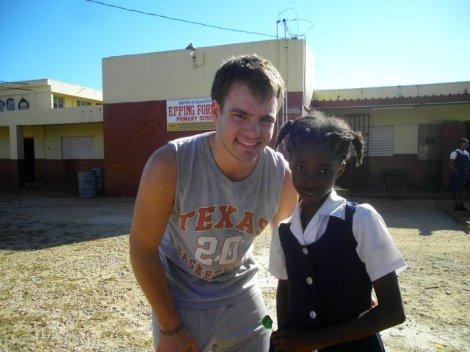 Volunteering at a school in Treasure Beach, Jamaica
