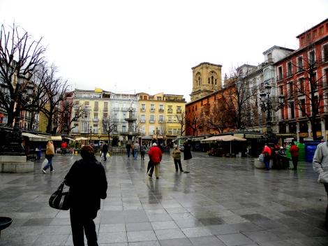 Plaza Bib Rambla - Granada, Spain
