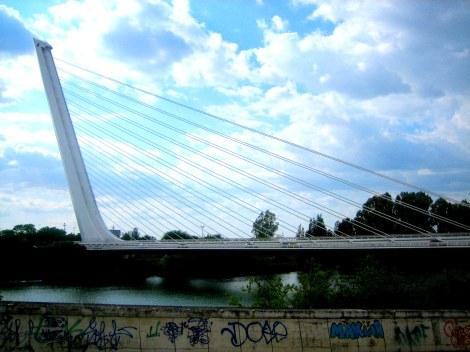 Puente del Alamillo - Sevilla, Spain