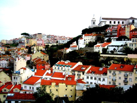 View from the Castle of São Jorge