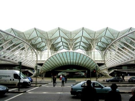 Lisbon Orient Station by Santiago Calatrava