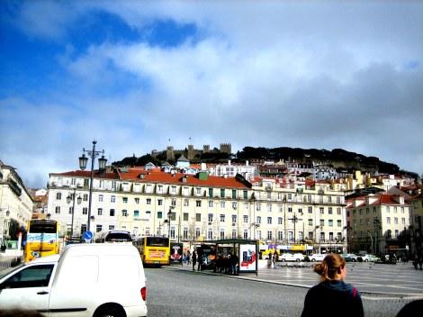 Castle of São Jorge overlooking Lisbon