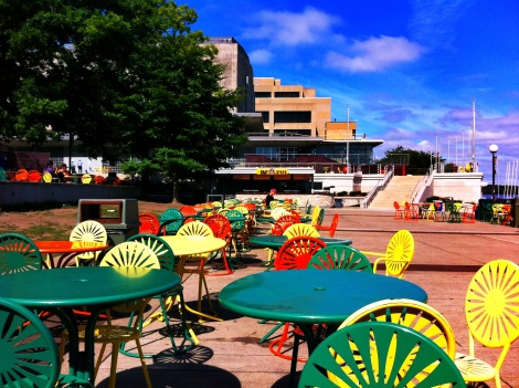 Memorial Union Terrace at UW-Madison