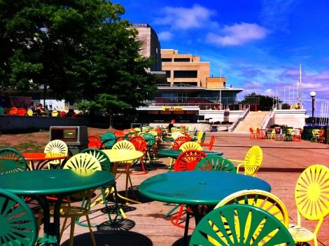 Memorial Union Terrace at UW-Madison