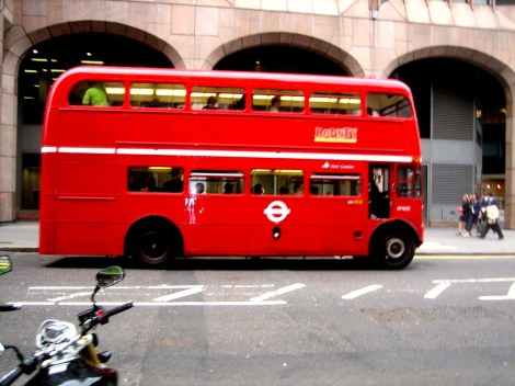 Double-decker Bus - London, England