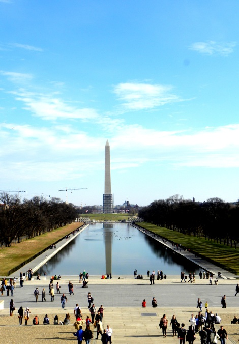 View from the Lincoln Memorial
