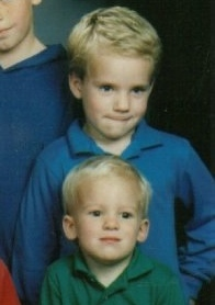 My Brother and I at a Much Younger Age.